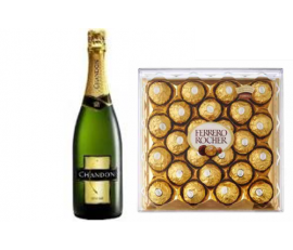Chandon y Ferrero Rocher x 24